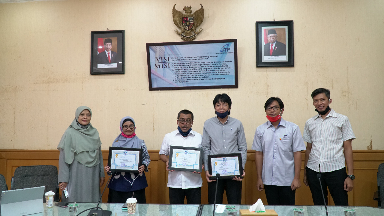 Terima Tiga Penghargaan dari LLDIKTI, ITP Dapat Dana Hibah Penelitian 4.2 M