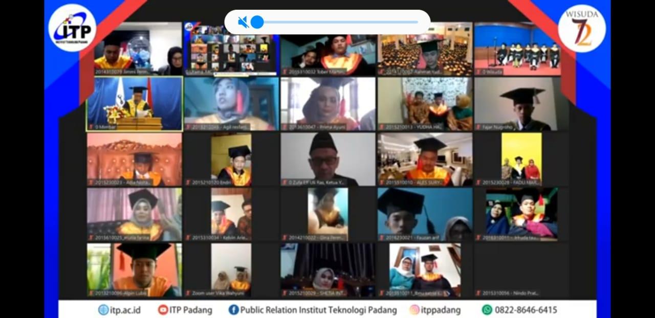 Wisuda Ke 72 Institut Teknologi Padang
