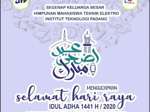Selamat Hari Raya Idul Adha 1441 H/2020