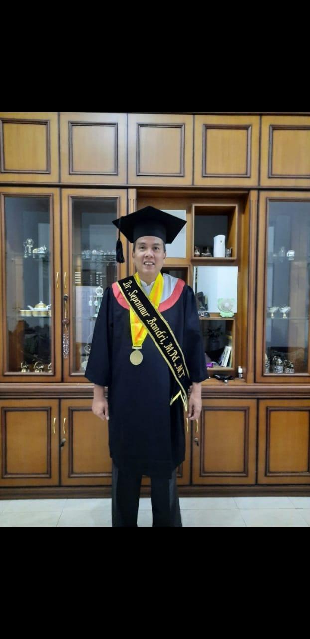 Selamat Kepada Dr.Sepanur Bandri,M.Pd,M.T