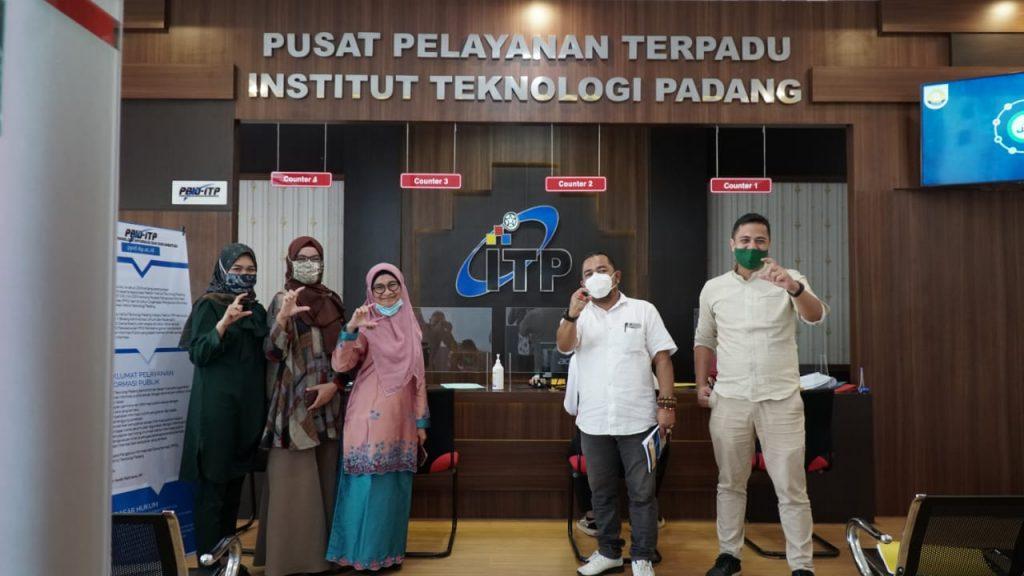Visitasi Ke ITP, KI Sumbar Apresiasi Progres PPID ITP