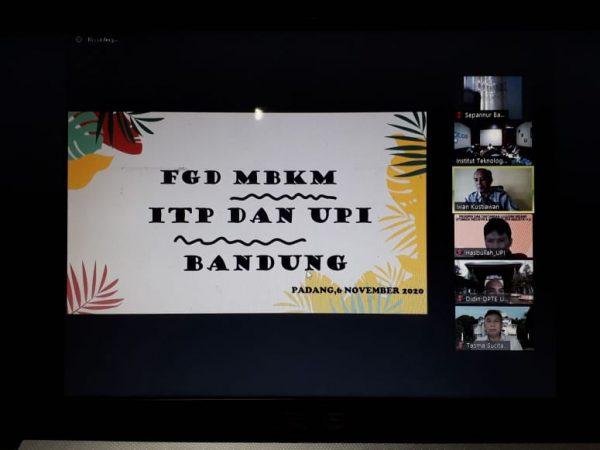 FGD MBKM ELEKTRO ITP dengan ELEKTRO UPI BANDUNG